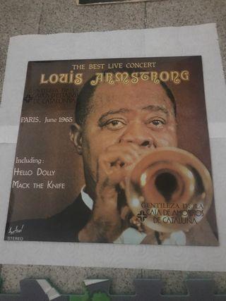Disco de vinilo De Louis Armstrong