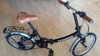 Bicicleta plegable Momo.