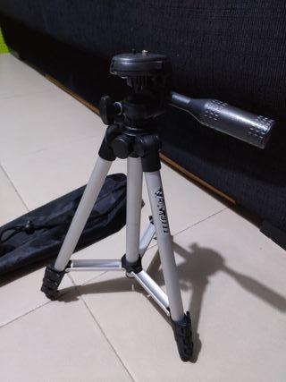 trípode extensible para cámaras sin uso ligero
