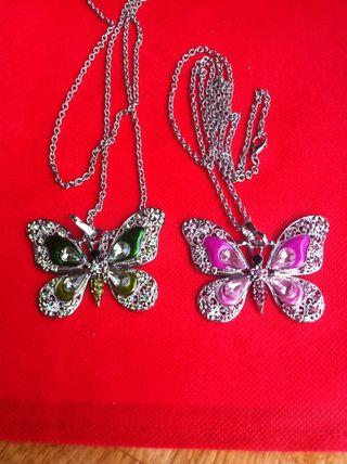 Colgantes de mariposa