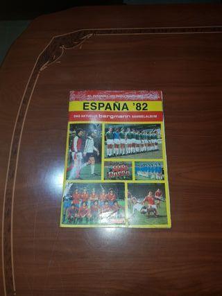 ALBUM CROMOS ESPAÑA 82 COMPLETO