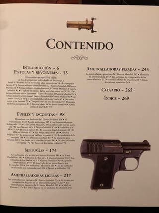 Libro Armas de fuego