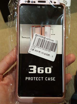 Funda Samsung S9 + protector pantalla.