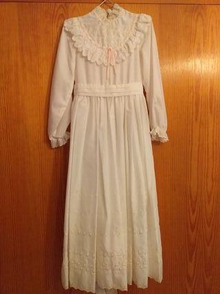 vestido comunion vintage