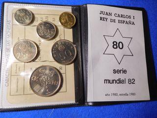 Cartera monedas mundial 82
