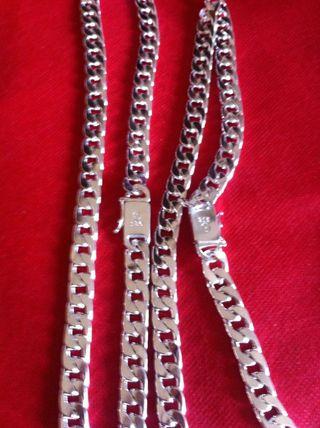 Pulseras de hombre plata 925mm