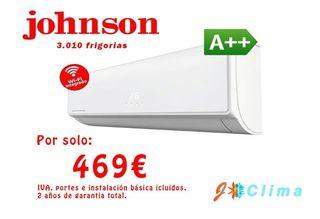Aire Acondicionado Johnson JT12K