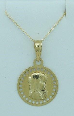 Medalla de oro 18 kt