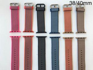 Correas Apple Watch Nylon nuevas 38/40mm