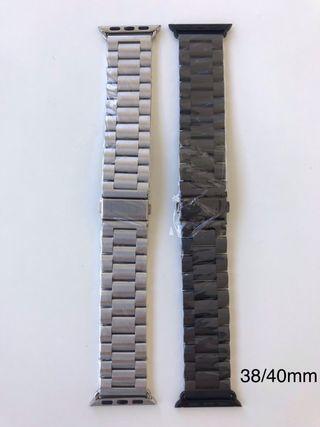 Correas Apple Watch eslabones metal 38/40mm