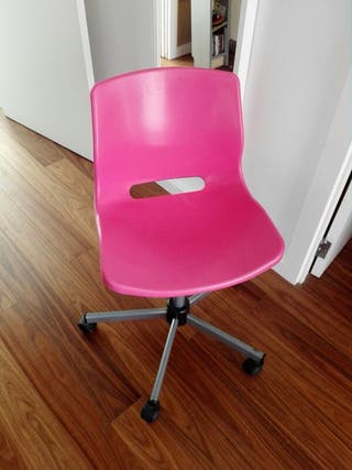 Regulable Silla Ikea En Mano Por Altura De Rosa Giratoria Segunda n8P0Owk
