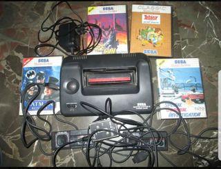 master system II +juegos y 2 mandos
