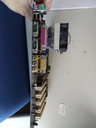 placa base +micro amd xp 1600 mhz