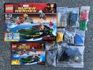 "LEGO MARVEL SUPER HEROES 76006 ""SIN FIGURAS"""