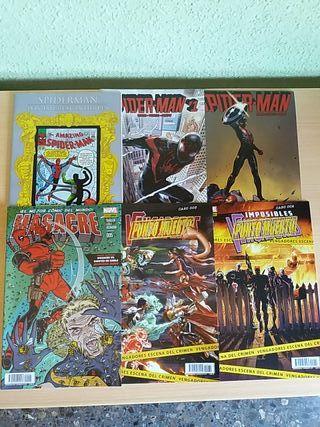 Comics de grapa de marvel