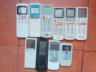 mandos para aire acondicionados