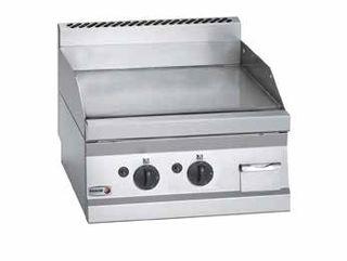 Frytop sobremesa a gas placa lisa acero max-min