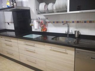 Mueble cocina con electrodomésticos
