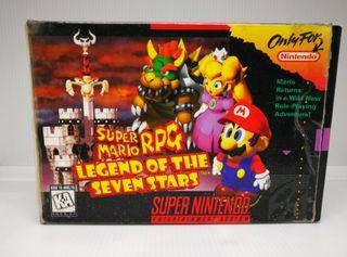 Video Juego Super Mario RPG Super nintendo