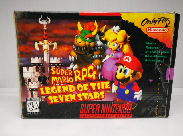 Video Juego Super Mario RPG Super nintendo