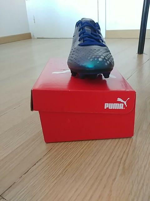 botas de fútbol puma niño talla 35 nuevos