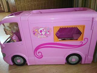 caravana Barbie. Mattel