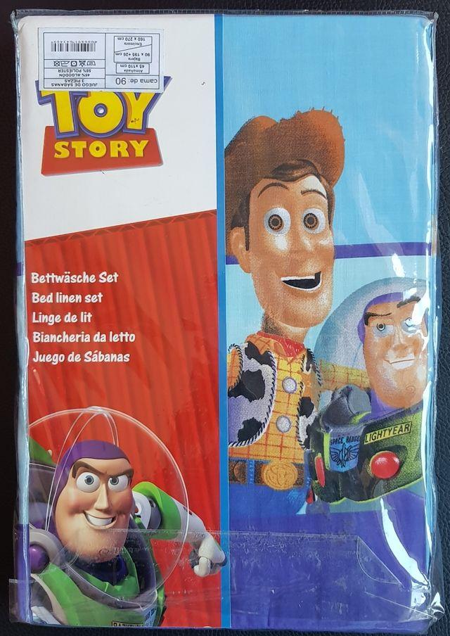 Juego De Sábanas Toy Story Nuevo De Segunda Mano Por 22 En