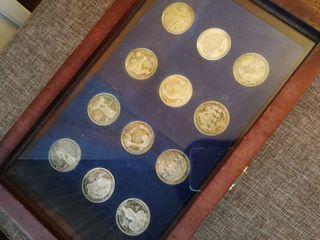 Monedas Real Madrid Conmemorativas Centenario