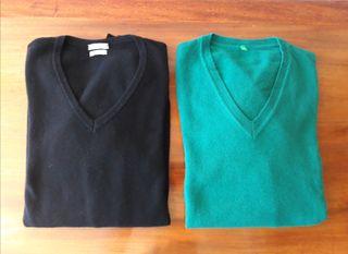 2 Jerseys Benetton Originales. Nuevos, nunca usado