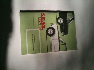 Manual de uso Seat 124D