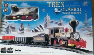 Tren clásico juguete NUEVO