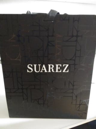 Bolsa doble caja y lazo de la joyeria Suarez