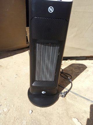 calefactor de columna cerámico