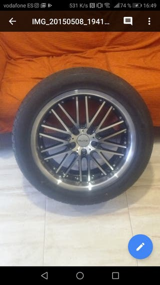 Llantas buzti 18 pulgadas con neumáticos 5x115
