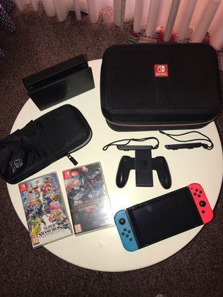 Pak Completo Nintendo Switch segunda mano.