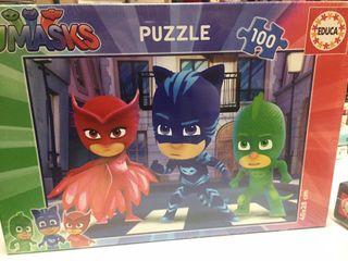 Puzzle PJMASKS 100 piezas