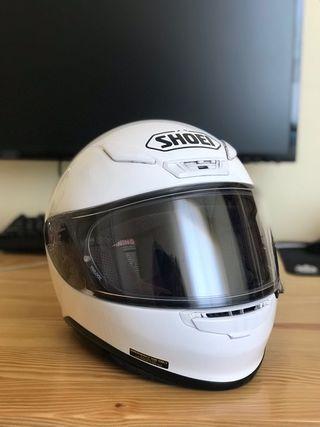 Casco moto Shoei NXR S blanco