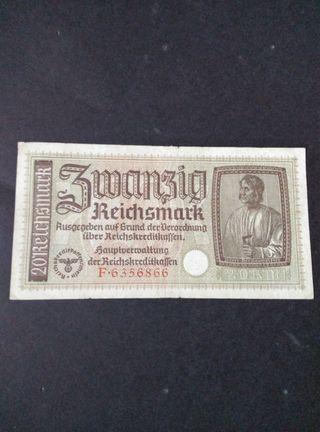 Billete del III Reich.