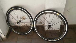 Ruedas carretera triathlon mavic cosmic pro carbon