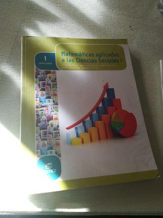 libro 1°bachillerato matemáticas sociales