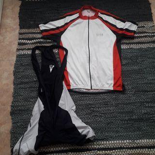 Conjunto ropa bici