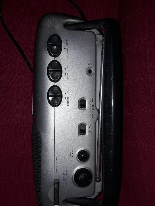 Radio cassette Philips...