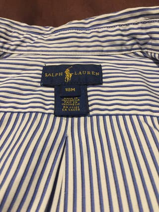 Camisa Polo Ralph Lauren. 18 meses