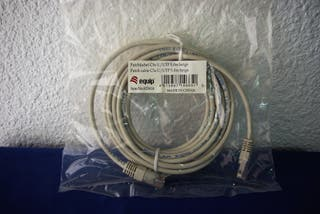 5 metros. Cable de red Ethernet RJ45 Cat.5e