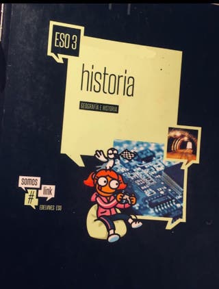 LIBRO HISTORIA 3*ESO EDELVIVES