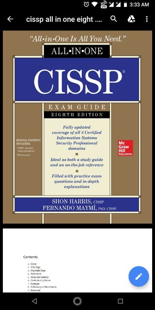 CISSP all in one eight edition pdf