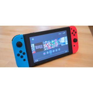 Nintendo Switch - Neón Rojo y Azul