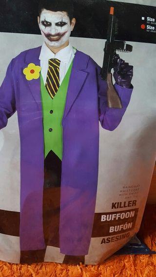 Disfraz Joker Adulto + Máscara. Talla L