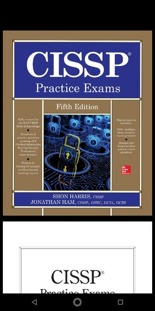 CISSP all in one fifth edition practice exams pdf