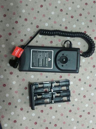 Pack baterias para flash canon